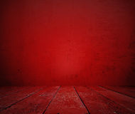 Stary czerwony pokój Obrazy Stock
