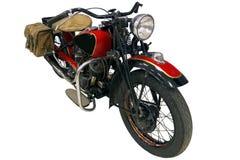 Stary czerwony rower Zdjęcia Royalty Free