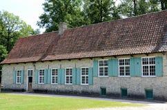 Stary długi dom Obraz Royalty Free