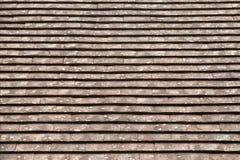 Stary dachówkowy dach Obrazy Stock