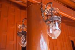 stary dekoracja lampion Obraz Stock