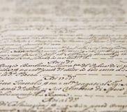 stary dekoracyjny handwriting obraz royalty free