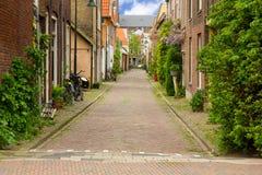 stary Delft miasteczko Holland Zdjęcie Stock
