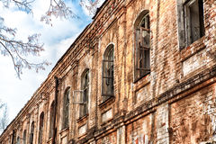 Stary dom bez ludzi Obrazy Stock