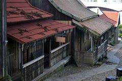 stary dom, drewniany Zdjęcia Stock