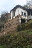 Stary dom i roślinność Zdjęcie Stock