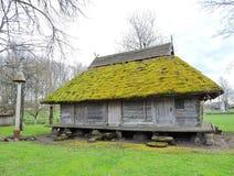 Stary dom, Lithuania zdjęcie stock