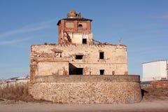 Stary dom na plaży fotografia royalty free