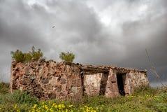 stary dom na wsi Obrazy Royalty Free