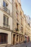 Stary dom Paryż obraz royalty free