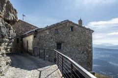 Stary dom w Ares Del Maestre Fotografia Stock