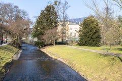Stary dom w Baden-Baden, Niemcy Obraz Stock