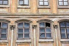 Stary dom w Banska Stiavnica, Słowacka republika, architektoniczny th Zdjęcie Stock
