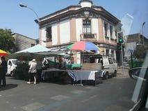 Stary dom w chile puerto varas zdjęcia stock