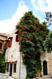 Stary dom w Dibbiye, góra Liban Zdjęcia Royalty Free