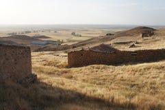 Stary dom w Hiszpańskiej wiosce obraz royalty free