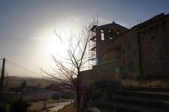 Stary dom w Hiszpańskiej wiosce obraz stock