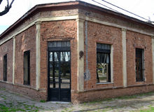 Stary dom w miasteczku Fotografia Royalty Free