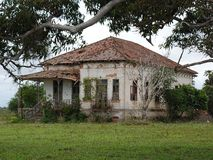 Stary dom w Rio De Janeiro Obraz Royalty Free