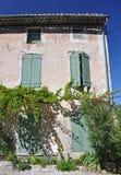 Stary dom w Romaine, w Provence, Francja Obraz Stock