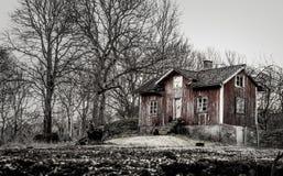 Stary Dom wiejski Fotografia Royalty Free