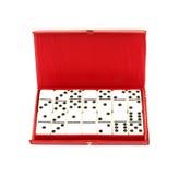 stary domino set Fotografia Royalty Free
