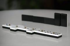 Stary domino set Zdjęcie Royalty Free