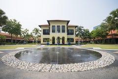 Stary domowy portugalczyka styl przy Malajskim dziedzictwa centrum Zdjęcia Stock