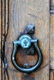 Stary doorknocker na kościół w mieście Montpelier, Waszyngtoński okręg administracyjny, Vermont, Stany Zjednoczone, USA, usa zdjęcia royalty free