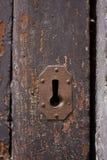stary doorlock keyhole Obrazy Stock