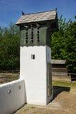 Stary dovecote na gospodarstwie rolnym w niskim Austria Zdjęcia Royalty Free