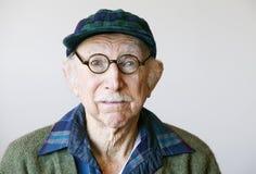 stary dowódca sweter szkła Zdjęcie Royalty Free