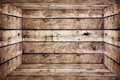 Stary drewna pudełko Obraz Stock