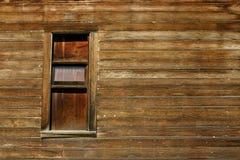 stary drewniane okna Zdjęcie Royalty Free