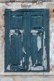 stary drewniane okna Zdjęcie Stock