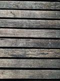 Stary drewniany ścienny tło fotografia stock