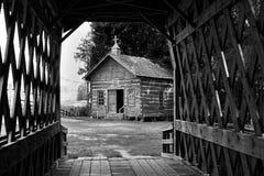 Stary Drewniany bela kościół Zdjęcie Royalty Free