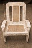 Trzciny krzesło Obrazy Stock
