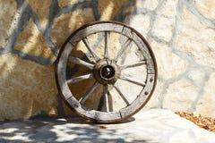 Stary Drewniany Cartwheel zdjęcie royalty free