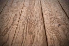 Stary drewniany dąb zaszaluje teksturę Obrazy Stock