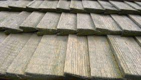 stary drewniany dach zdjęcie stock