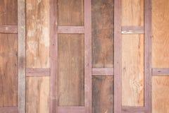Stary drewniany deski ściany tło Zdjęcia Stock