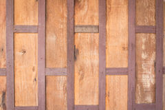 Stary drewniany deski ściany tło Obraz Stock