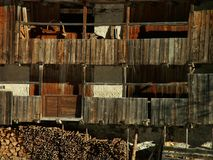 Stary drewniany dom Fotografia Stock