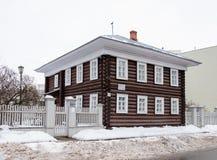 Stary drewniany dom - muzeum Fotografia Royalty Free