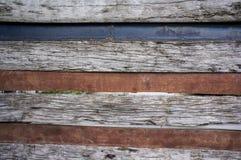 Stary drewniany drzwi Zdjęcie Stock