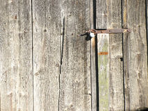 Stary drewniany drzwi Zdjęcie Royalty Free