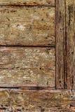Stary drewniany drzwiowy szczegółu wzoru vertical Obraz Stock