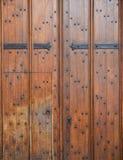Stary drewniany drzwiowy tło (Oxford) Obrazy Royalty Free