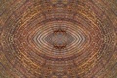 Stary Drewniany dysk dla tła Fotografia Stock